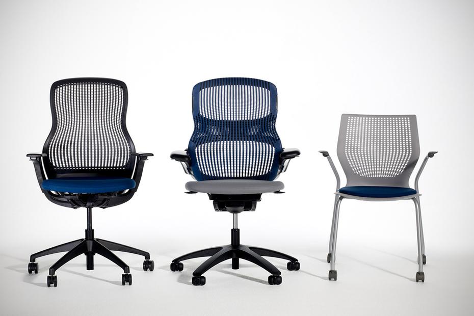 regeneration par knoll chaise de bureau formway design. Black Bedroom Furniture Sets. Home Design Ideas